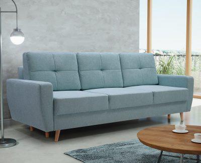 Miękka kanapa rozkładana – dlaczego tak wiele osób je wybiera?