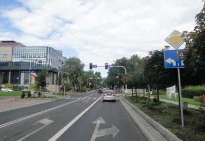 Znaki poziome dla rowerzystów